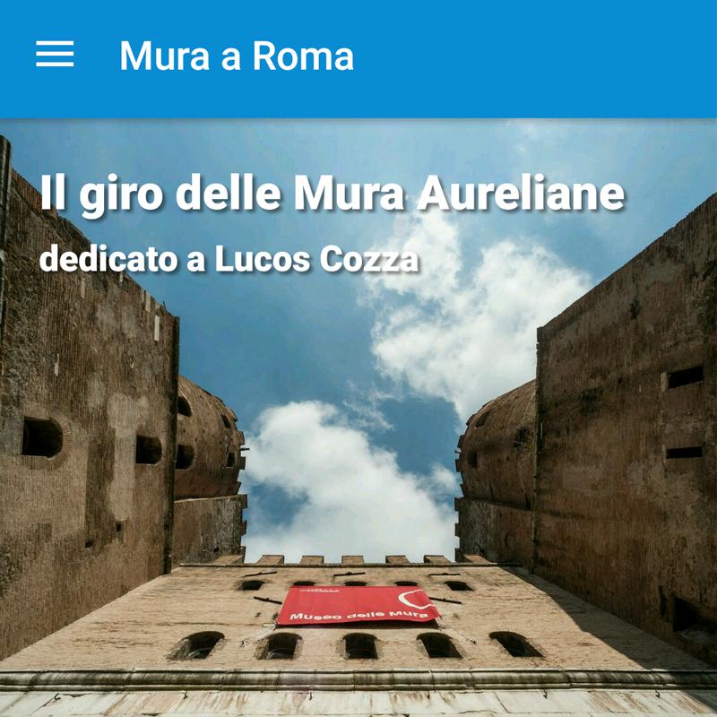 Il giro delle Mura Aureliane APP