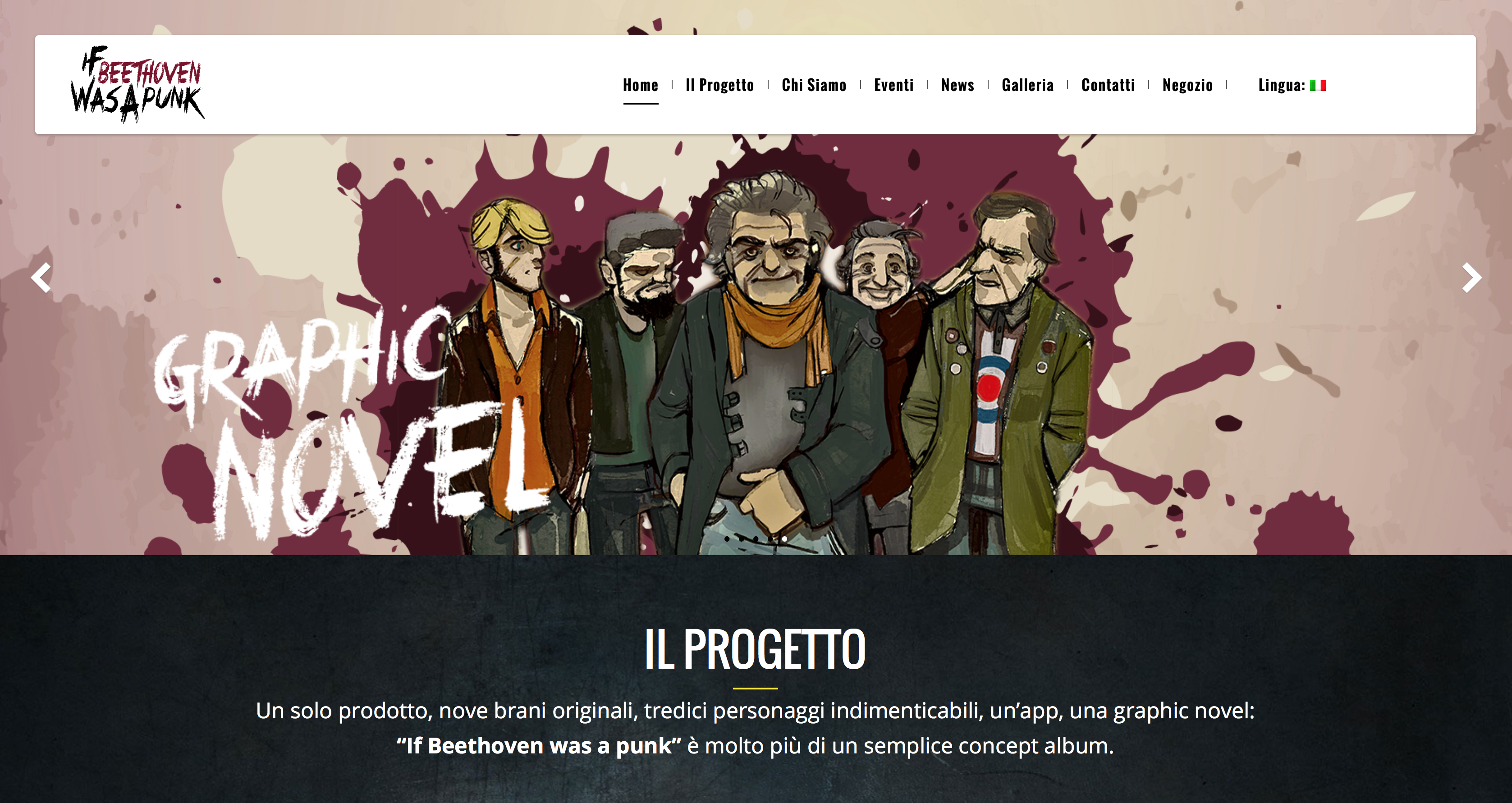 If Beethoven Was a Punk – Release del progetto