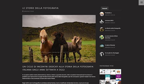 Corso portfolio WordPress