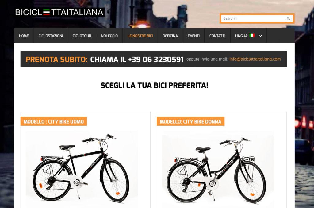 Bicicletta italiana